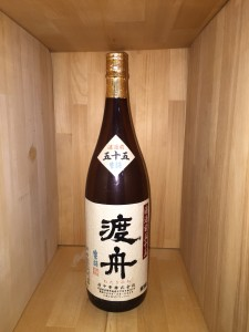 渡舟 純米吟醸 濾過前五十五 1,800ml
